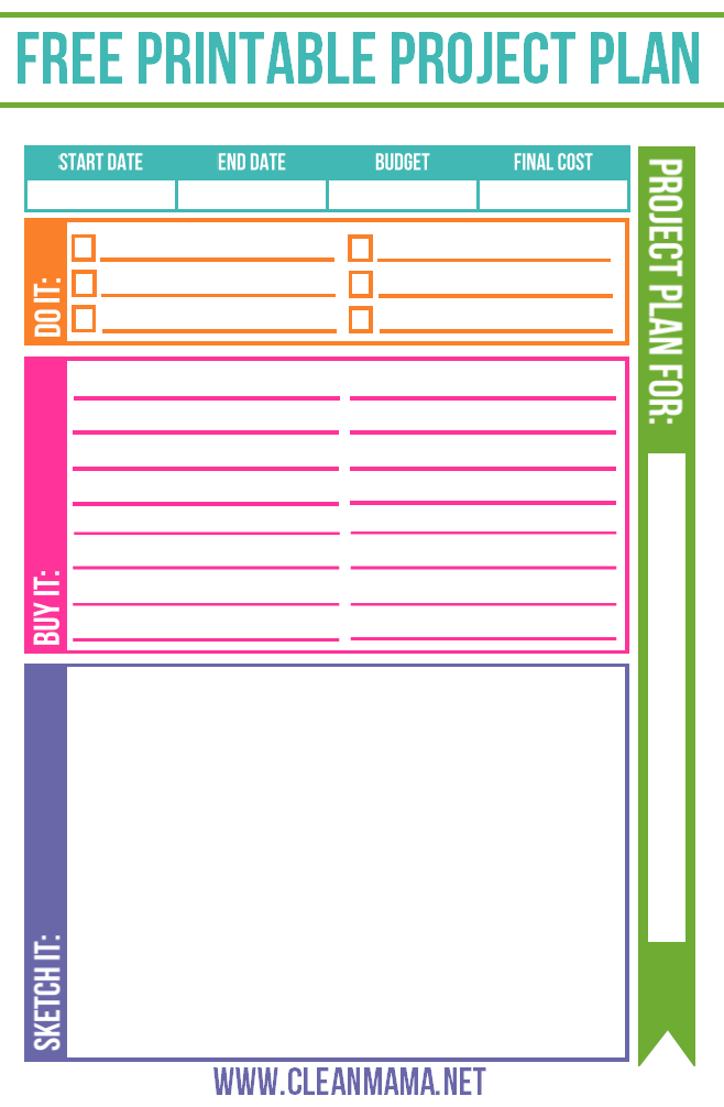 free project planner top organizing bloggers pinterest project