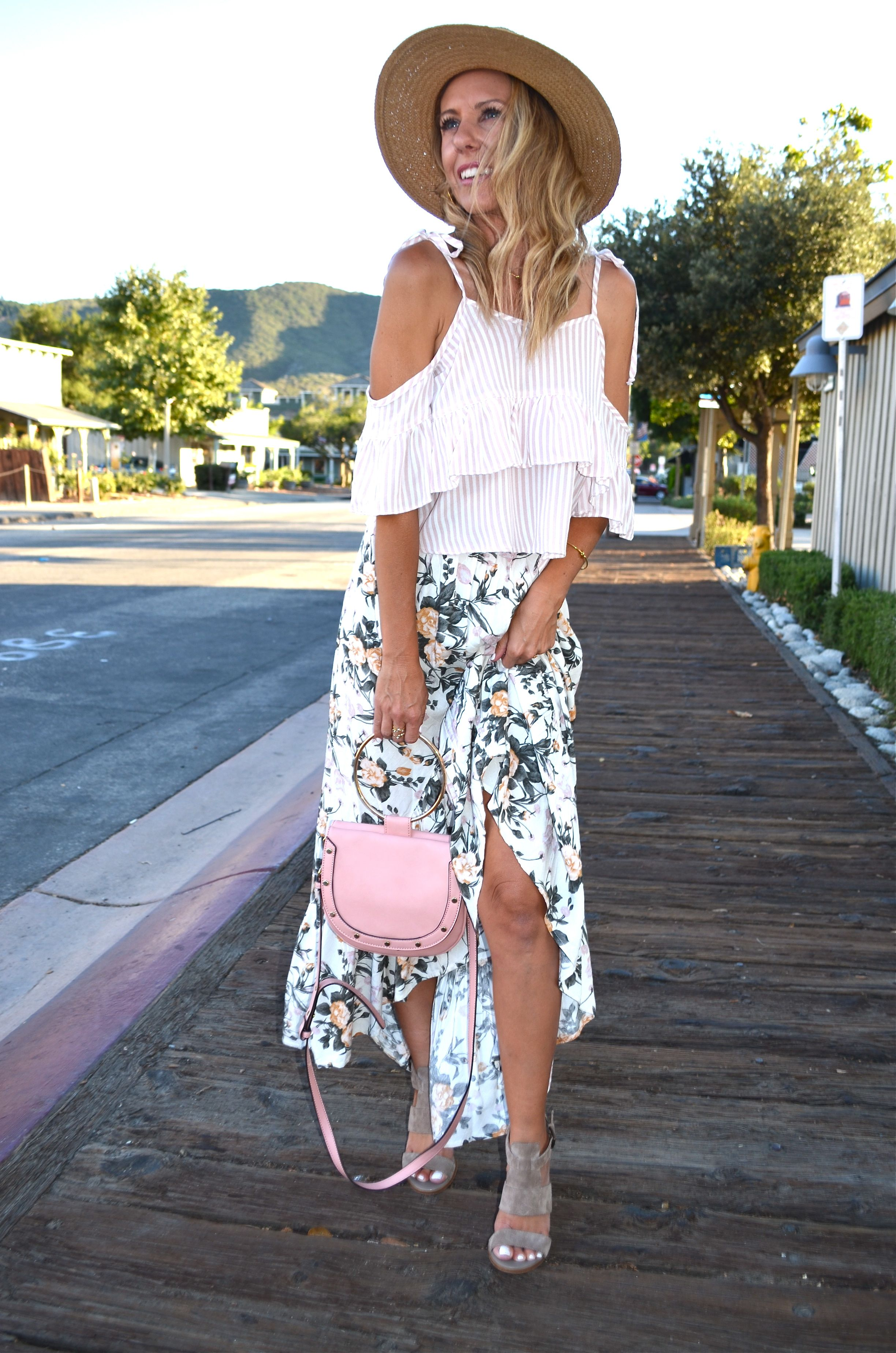 a3767f594e9d Two Ways to Style a Maxi Skirt - Jaclyn De Leon Style- bohemian ...