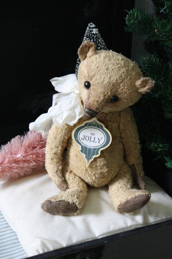 Pattern for Ginger, classic well aged teddy bear. sewing pattern and ...