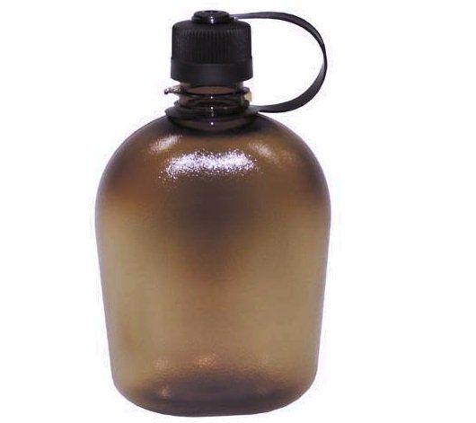 MFH US Feldflasche, GEN II, coyote/transparent / mehr Infos auf: www.Guntia-Militaria-Shop.de