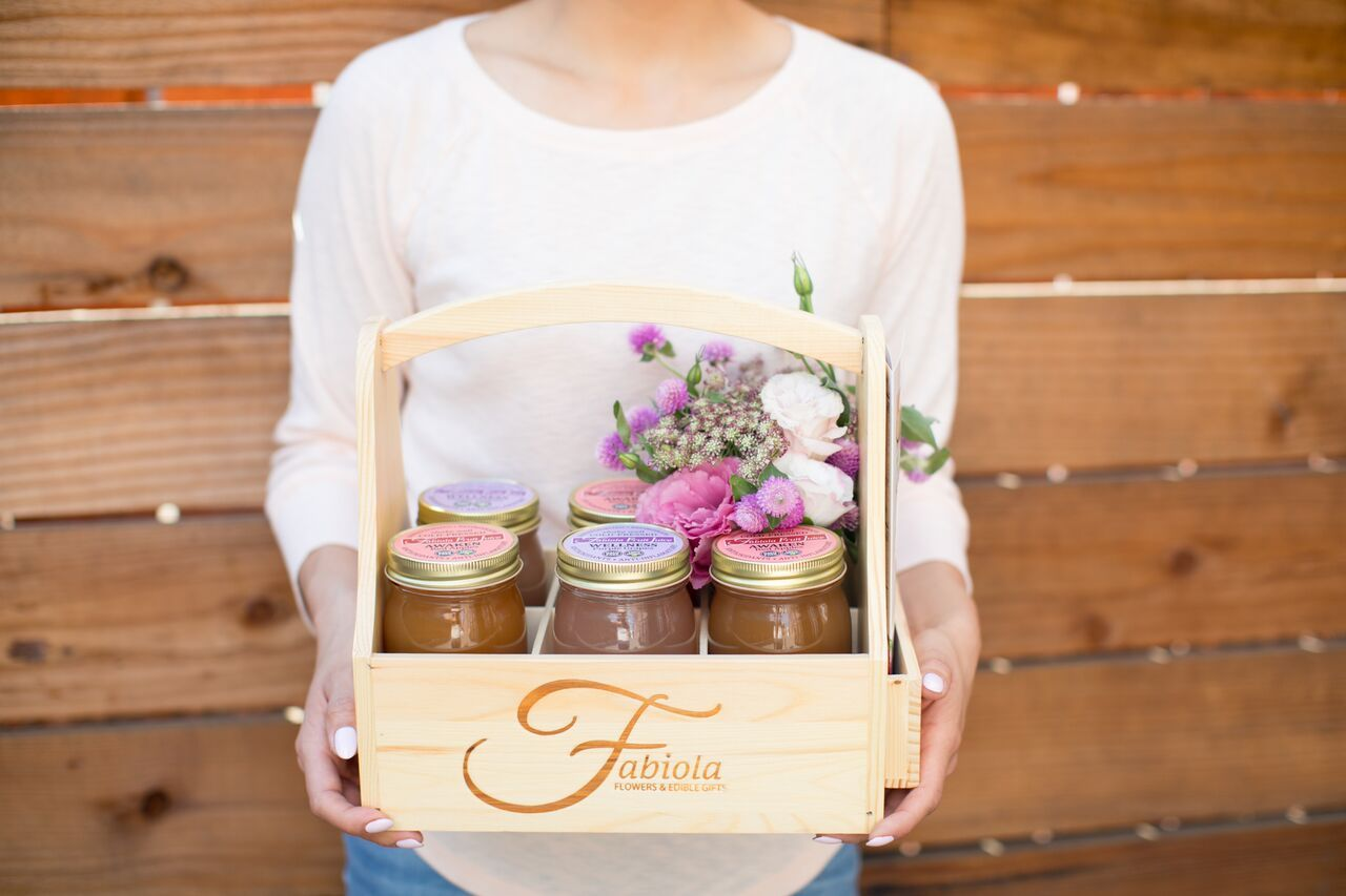 Fabiola flowers edible gifts gift baskets delivered in