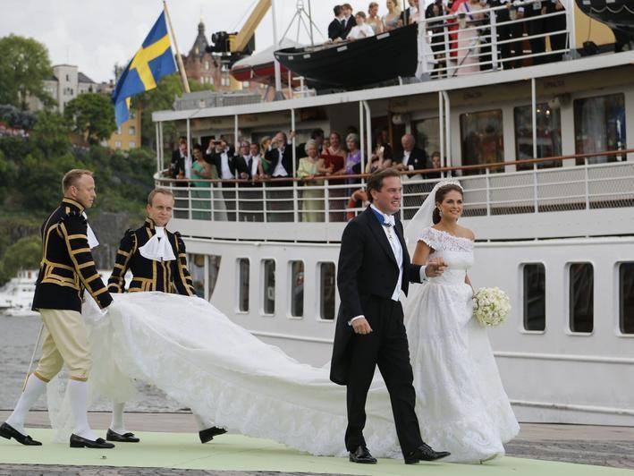 Hochzeit in Schweden: Die schönsten Bilder von Madeleine und Chris O'Neill