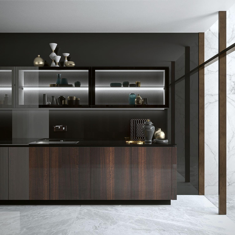 Pin On Kitchen E05 E06 Elegante Bespoke Fume Eucalyptus