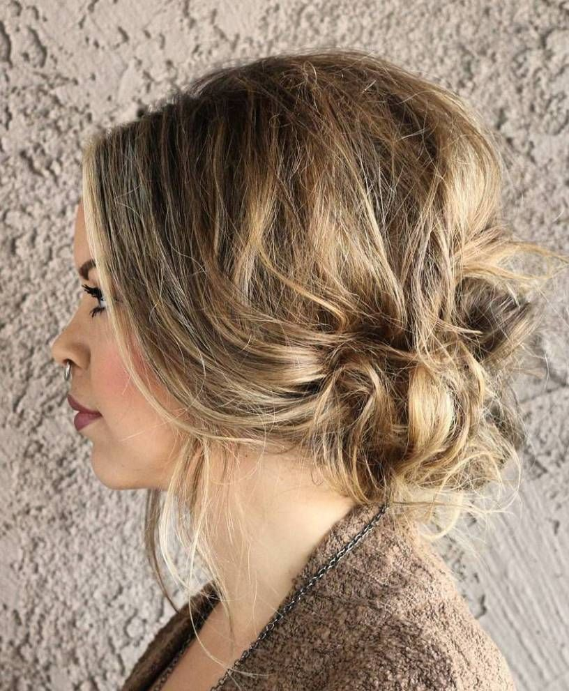 38 Perfectly Imperfect Messy Hairstyles for All Lengths   Easy messy  hairstyles, Messy hairstyles, Prom hairstyles for short hair