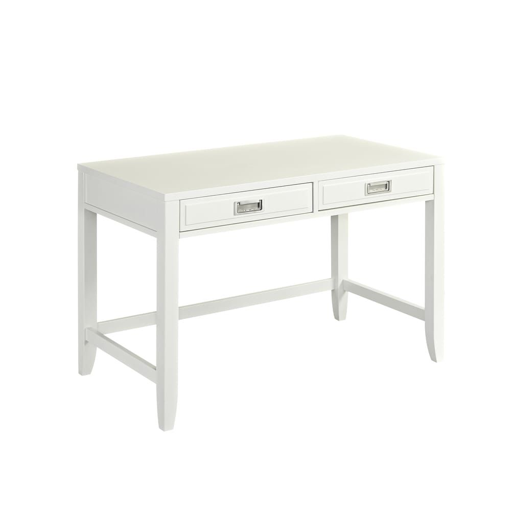 Newport Student Desk By Home Styles Newport Student Desk White In 2020 Furniture Furniture Logo Furniture Ads