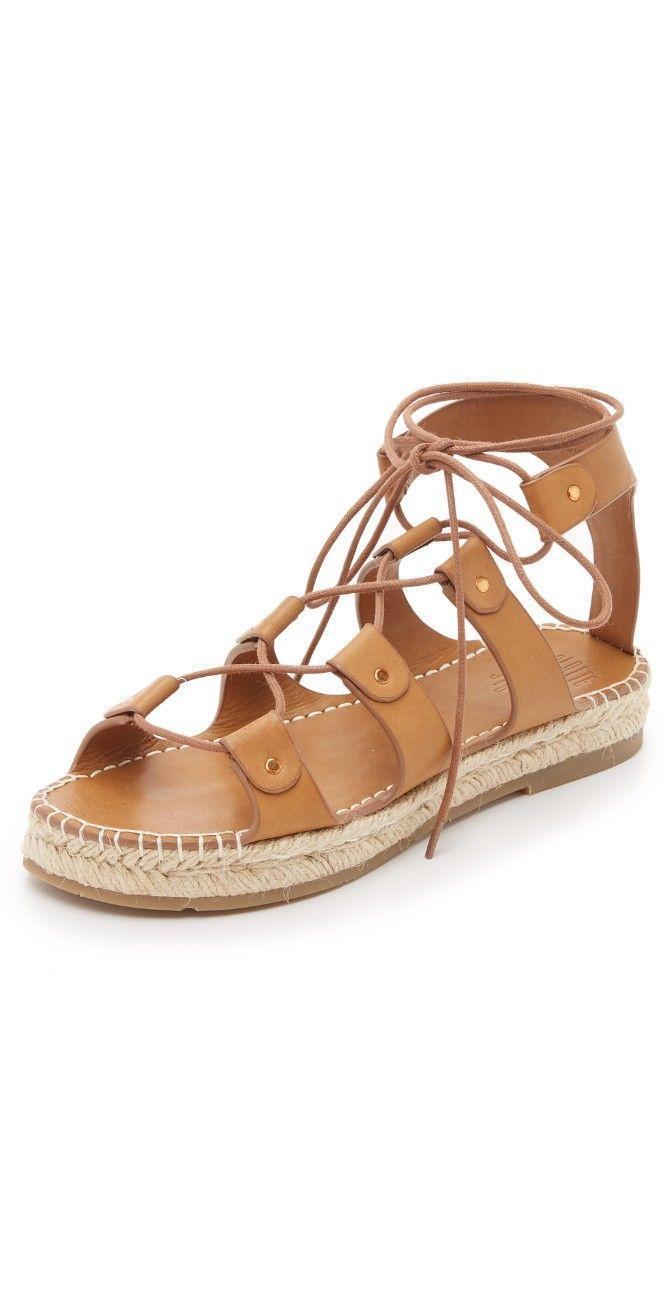 Charlotte Stone Joni Espadrille Gladiator Sandals | 15% off 1st app order  use code: 15FORYOU