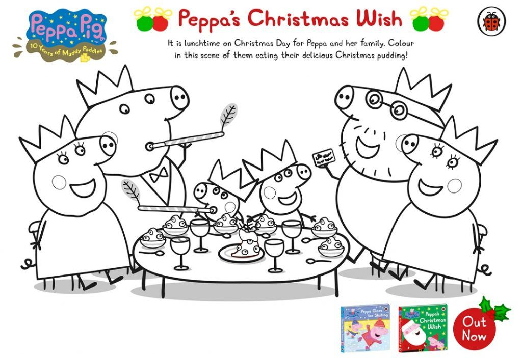 Peppa Pig Coloring Pages Printable and Free   Peppa pig ...