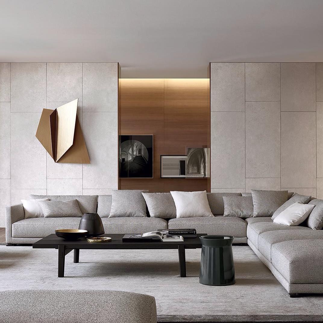 O Sofá Bristol da Poliform é um dos nossos preferidos. É um sistema modular e um dos sofás mais confortáveis onde algum dia se vai sentar. Vai encontrá-lo na QuartoSala - Home Culture #poliform #sofás #comfort #bristol #projetos #interiors #interiordesign #interiordesignprojects #jeanmarriemassaud #lojas #lisboa #lisbonne #lisbon #quartosala