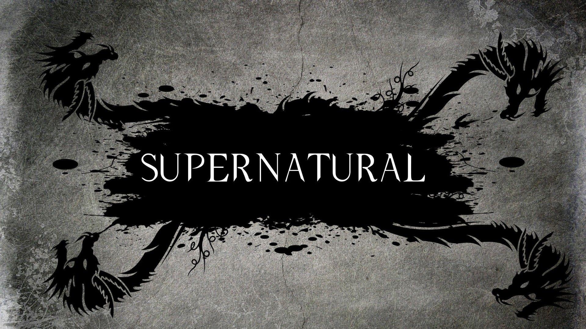 Supernatural Logo Übernatürlich, Supernatural