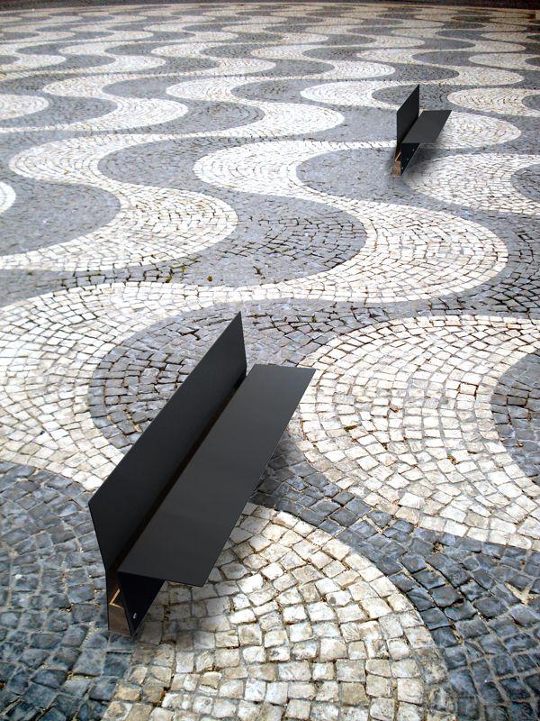 Plegarte by ferran bruguera bancos exterior muebles for Mobiliario infantil montevideo
