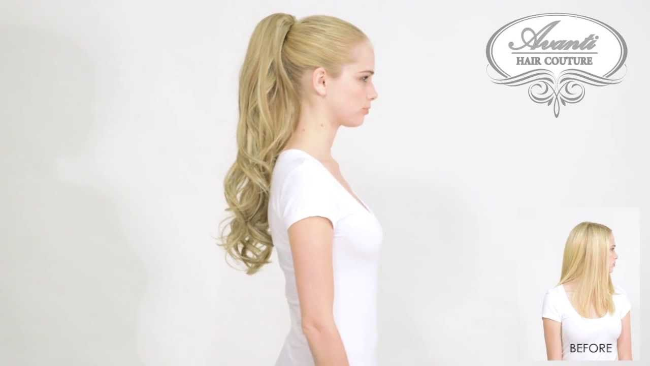 Hair Couture Ponyclip