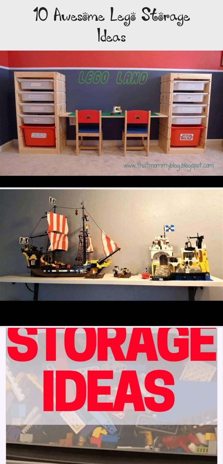 10 Awesome Lego Storage Ideas - KIDS - #legostorage - 10 Awesome Lego Storage Ideas - KIDS... #legostorage