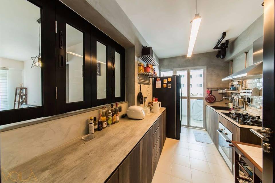 voila concept minimalistic kitchen   Cafe interior design ...