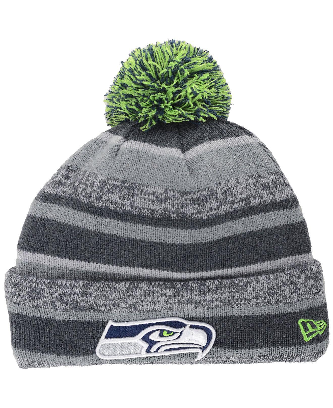 1d5e05fc65f4b get new era kids seattle seahawks sport knit hat sports fan shop by lids  15456 f22a4