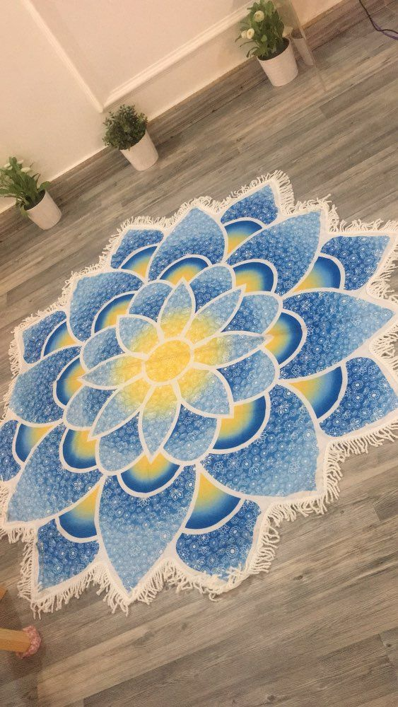 awesome beach towels. Awesome Indian Mandala Yoga Round Mat Beach Towels, Towel, Blanket, Coloring, Designs, Patterns, Towels