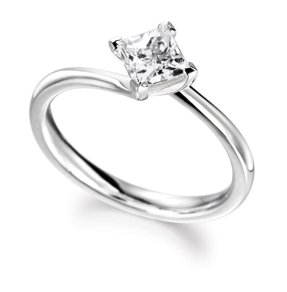 Princess Cut Engagement Ring Shadora 23 Engagement Rings