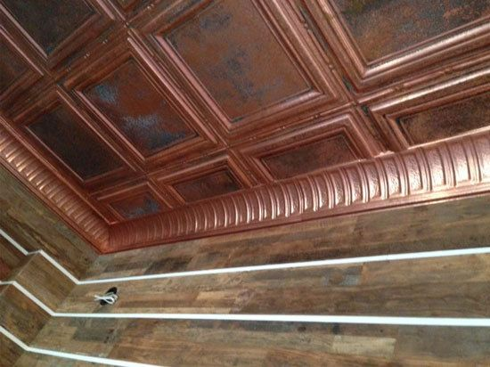 tile ceiling solid victoria copper gallery princess dct tiles