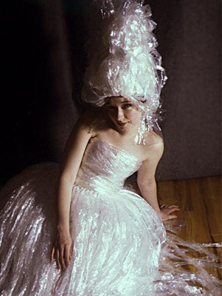 Saran Wrap Dresses Wedding Dresses Wigs