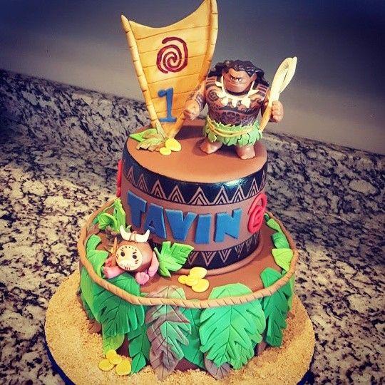 Maui Cake by Trina Truman @Sweetcreationscakes&cupcakes ...