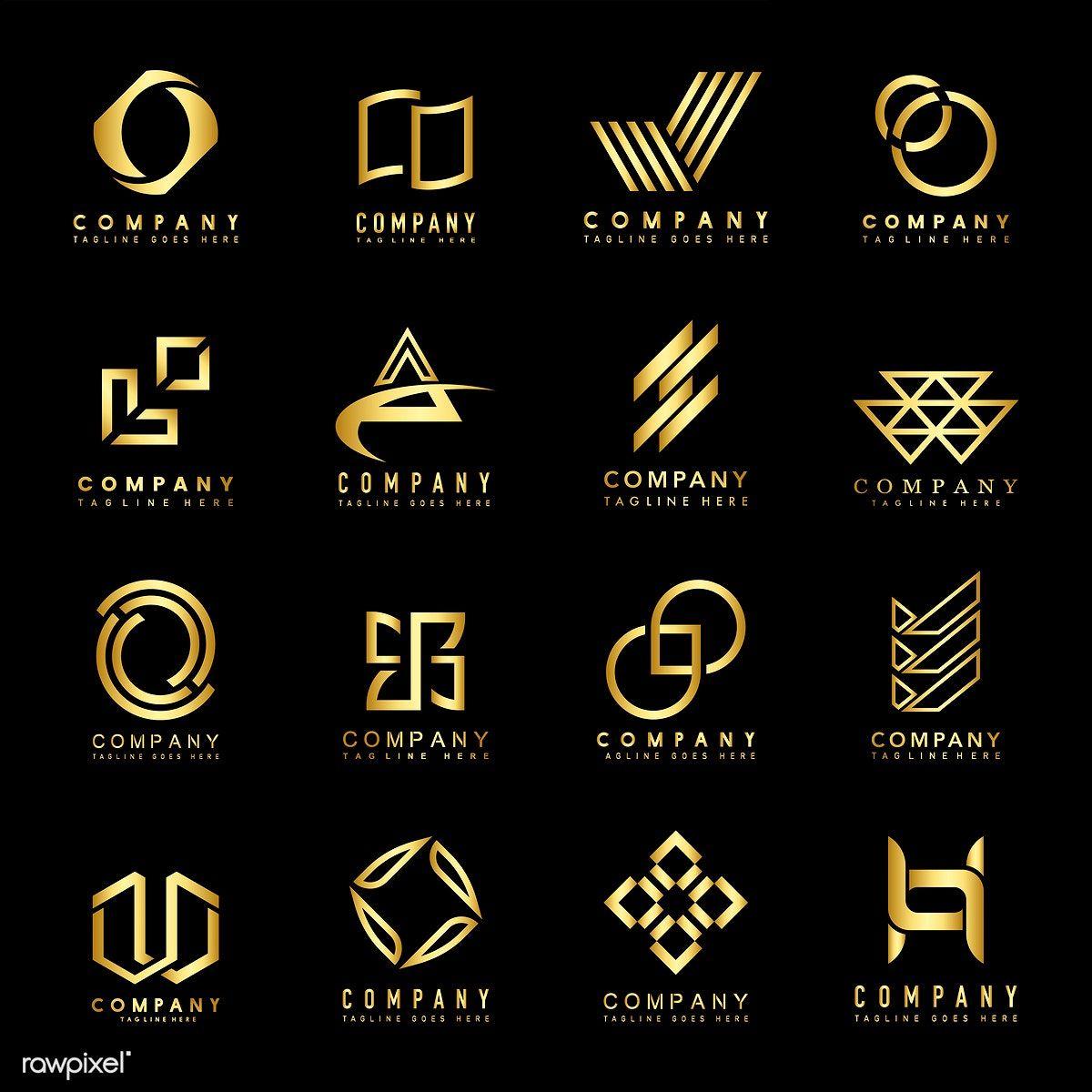 Download Premium Vector Of Set Of Company Logo Design Ideas Vector