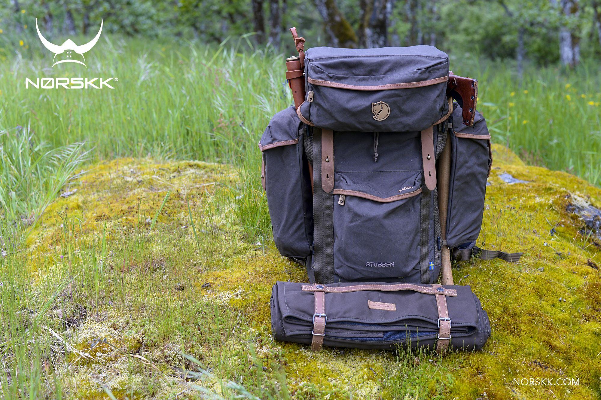 Fjllrven Stubben Pack With Vik Blanket Survivalism Pinterest Fjallraven Kanken Laptop 15ampquot Forest Green