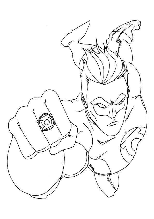 Top 20 Superhero Coloring Pages For Your Little Ones ...