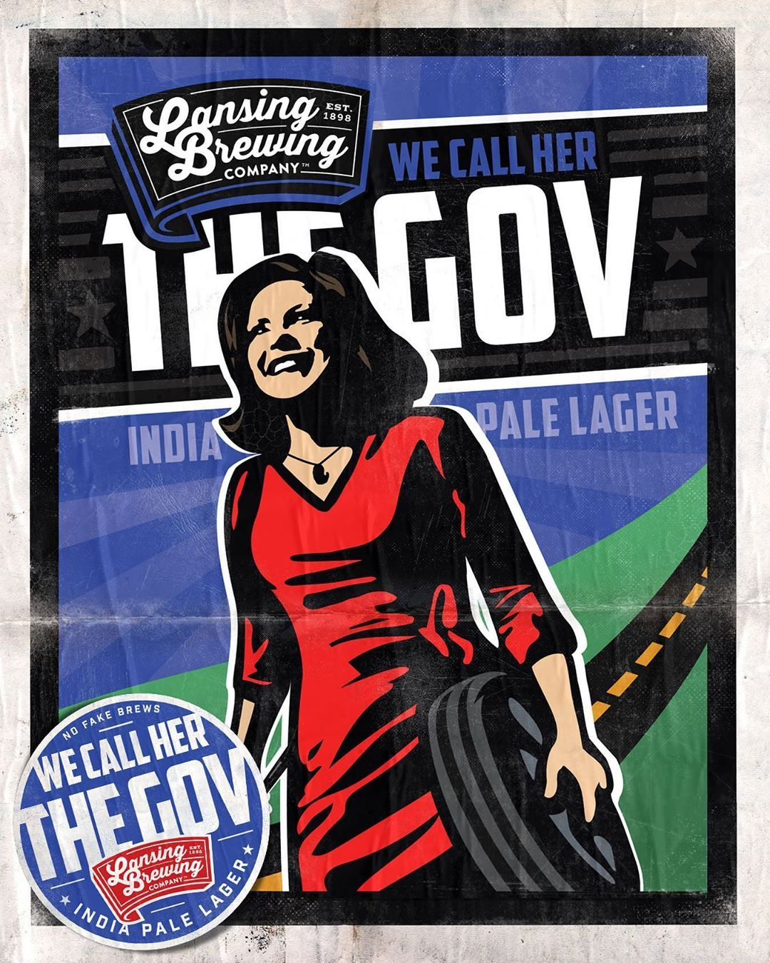Brewery To Unveil Beer Dedicated To Gov Whitmer With Namesake In Attendance Pale Lager Michigan Craft Beers Lager