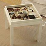 memory box table