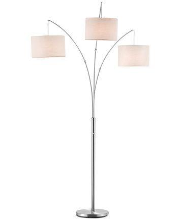 Adesso trinity arc floor lamp macys com