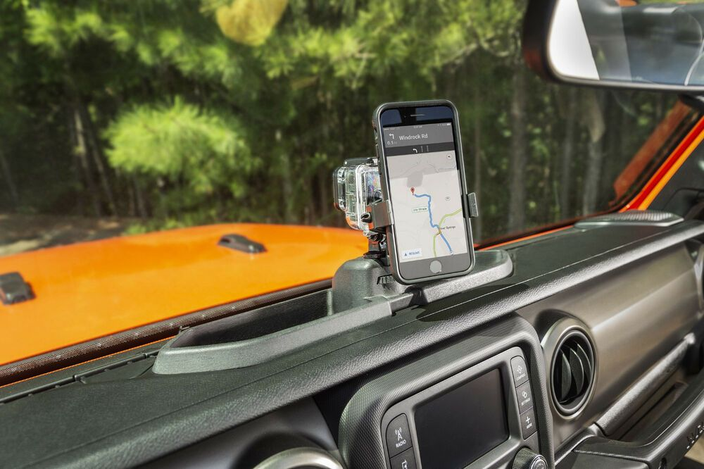 Hands Free Dash Multi Mount Phone Holder 2018 To 2019 Jeep