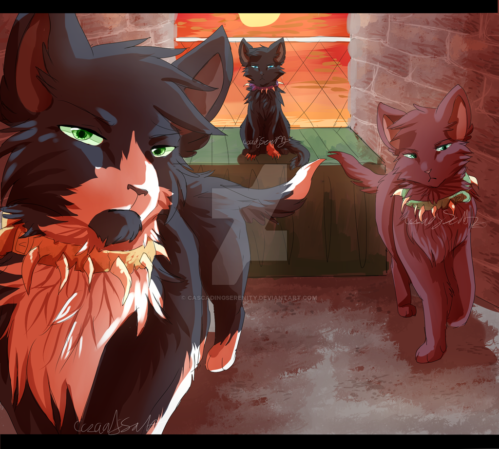 Apprentices Warrior Cats Untold Tales: Welcome To Bloodclan By CascadingSerenity.deviantart.com
