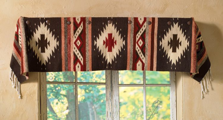 Horseblanket Valance In 2019 Southwestern Home Decor