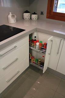 DISEÑO Y DECORACIÓN DE COCINAS: El interior de los muebles de cocina ...