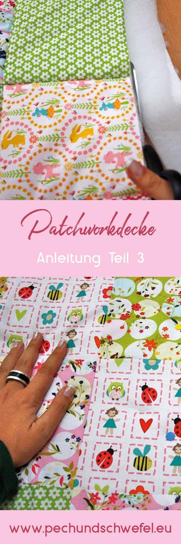 Photo of Patchworkdecke quilten – Anleitung wie man eine Decke näht