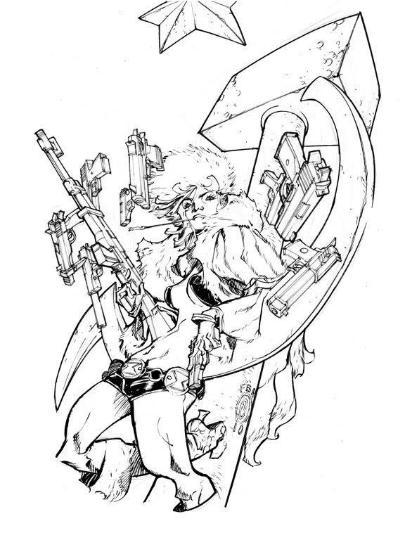 BLACK WIDOW_90 minutes by EricCanete on DeviantArt | Character ...