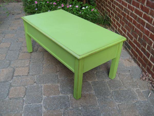 Craigslist Crushes: Coffee Tawk   Green coffee tables, Mid ...