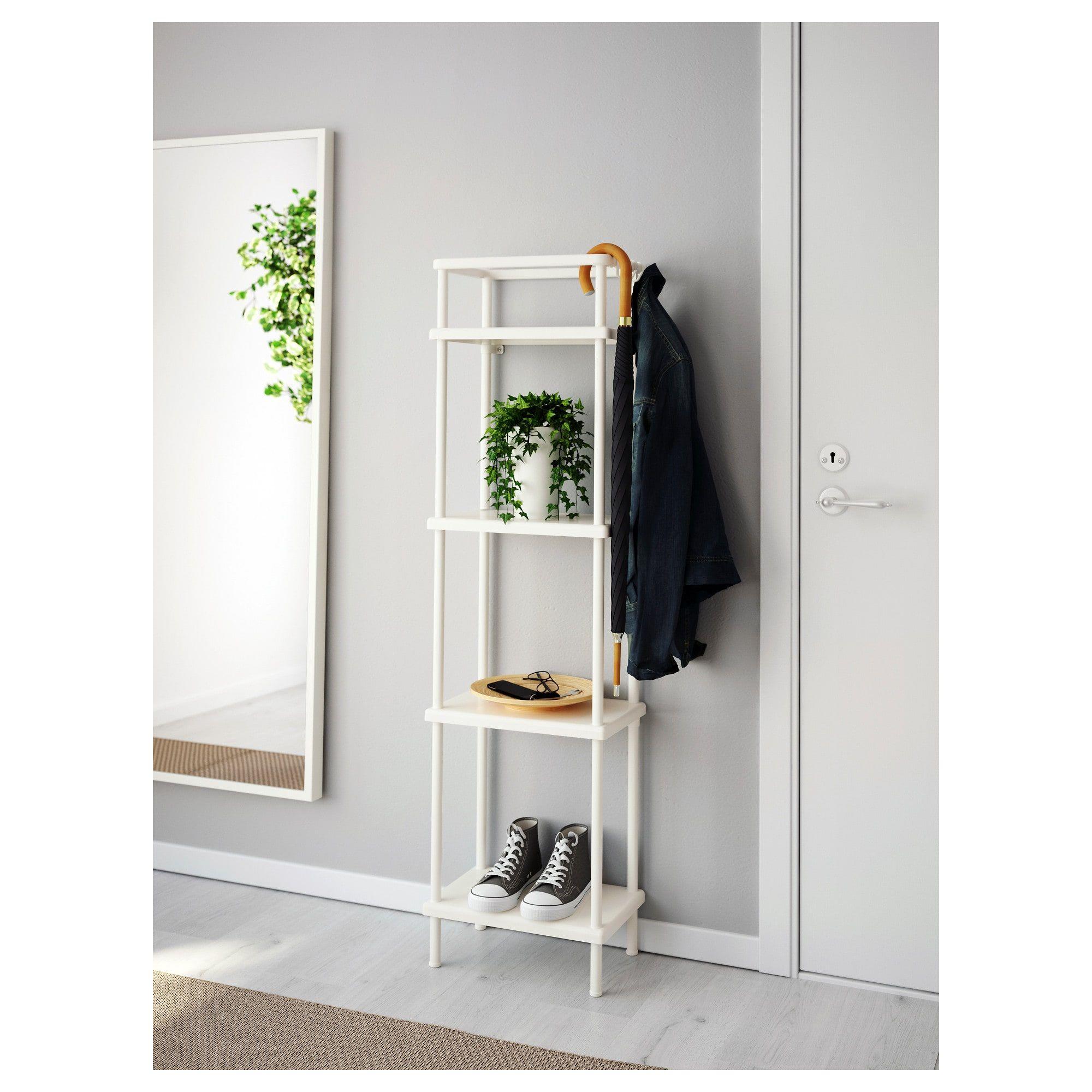 Dynan Shelf Unit White 15 3 4x10 5 8x58 1 4 Ikea Shelves Ikea Shelf Unit
