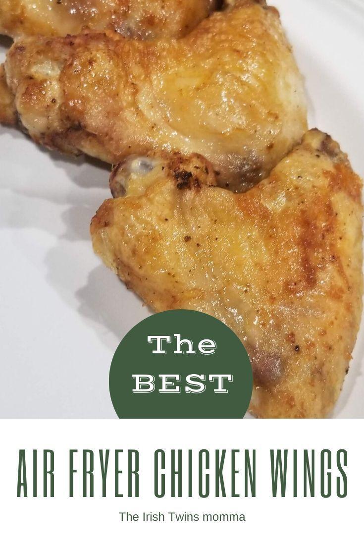 Air Fryer Chicken Wings Recipe in 2020 Air fryer