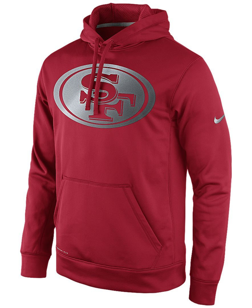 2e94a3a2 Nike Men's San Francisco 49ers Reflective Ko Hoodie | Products ...