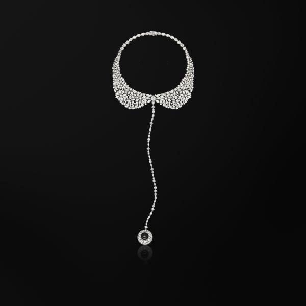 Platinum Diamond Necklace watch G0A39250 - Piaget Luxury Watch Online