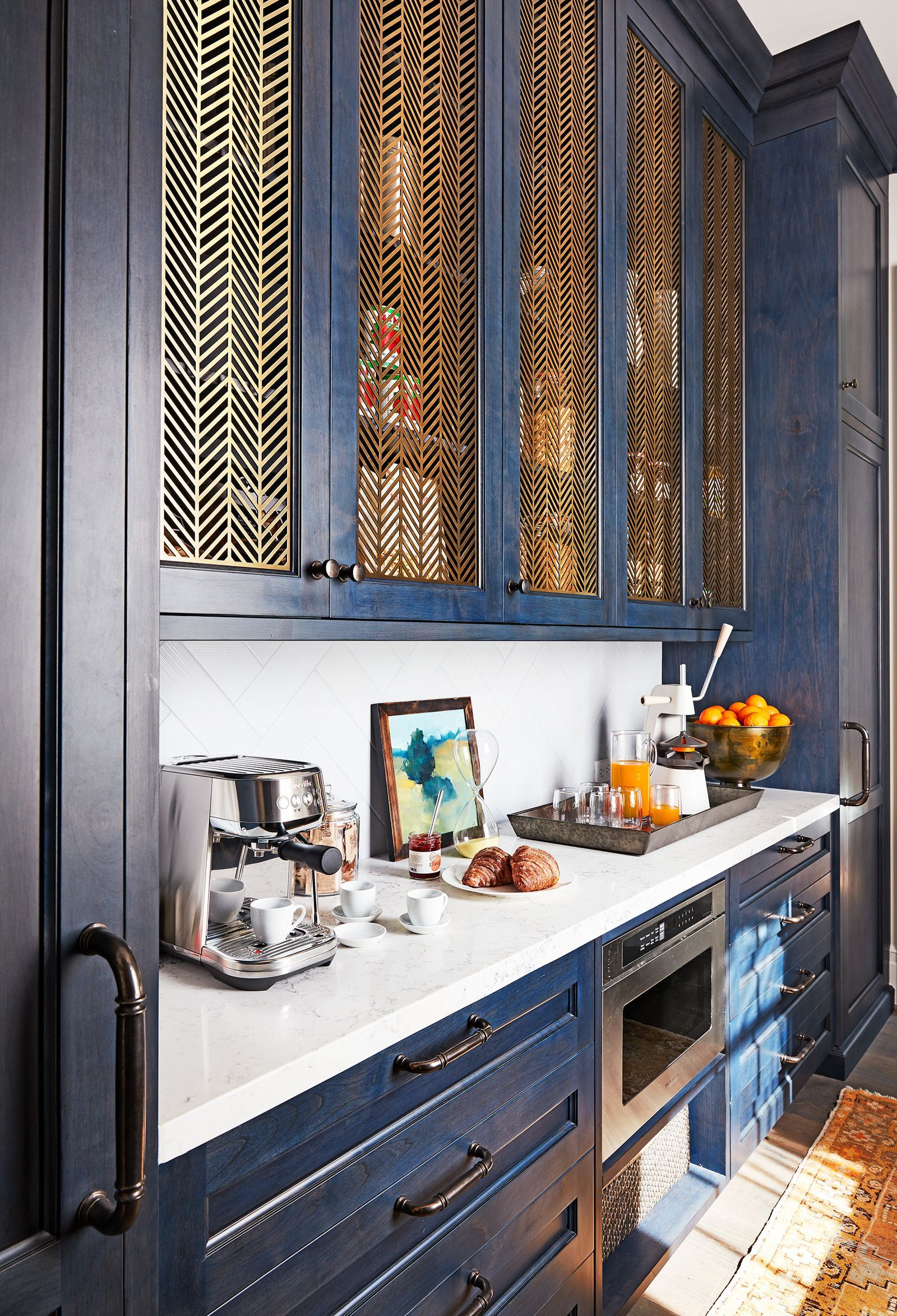 11 Coffee Bar Ideas That Will Make It So Much Easier To Get Out Of Bed In 2020 Kitchen Cabinet Styles Kitchen Cabinet Trends Kitchen Remodel