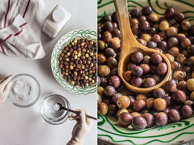 Curar Aceitunas Endulzado Receta Aceitunas Comida Y Bebida Recetas De Comida