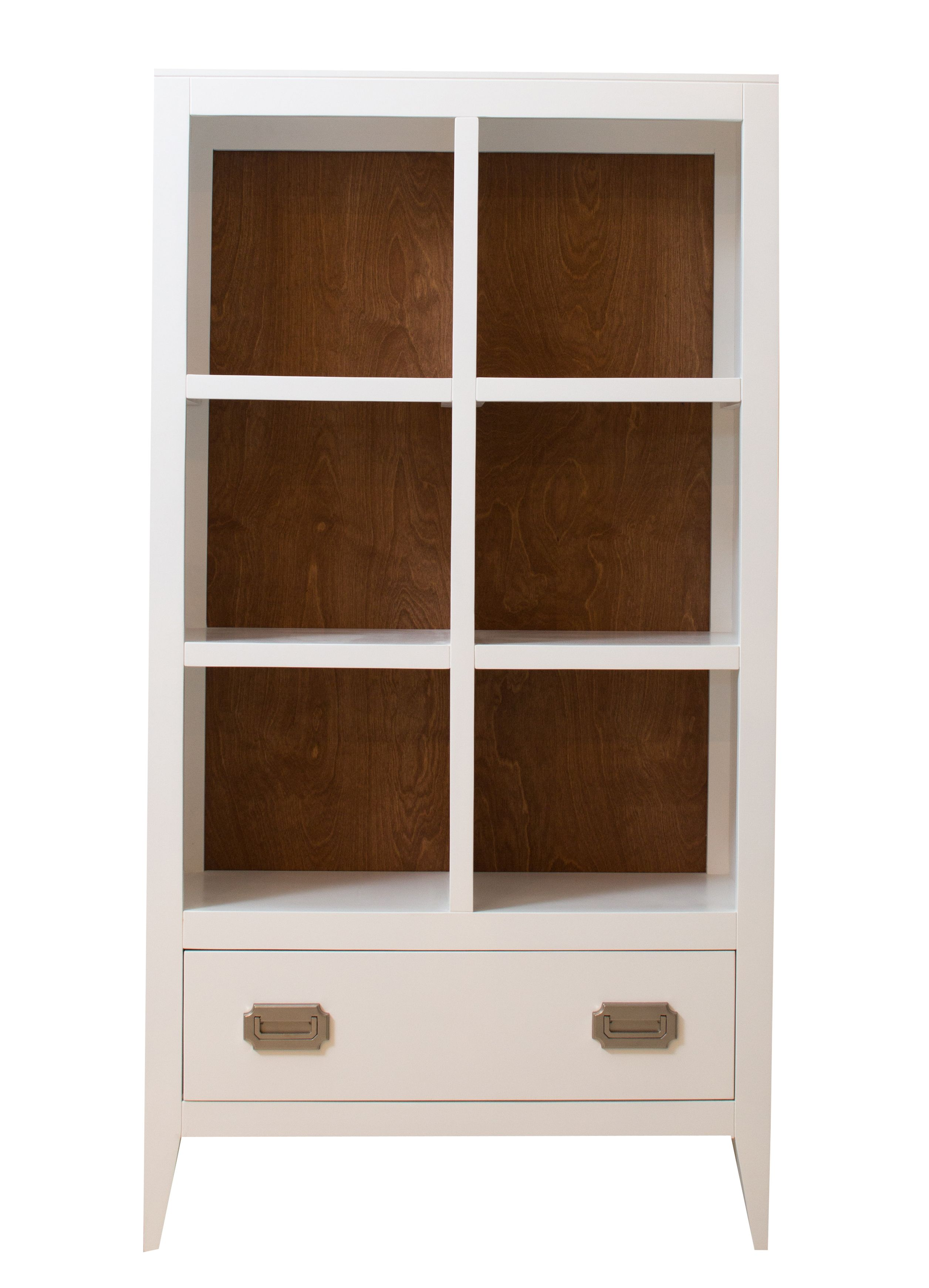 New Devon Bookcase with Drawer by Newport Cottages. Modern