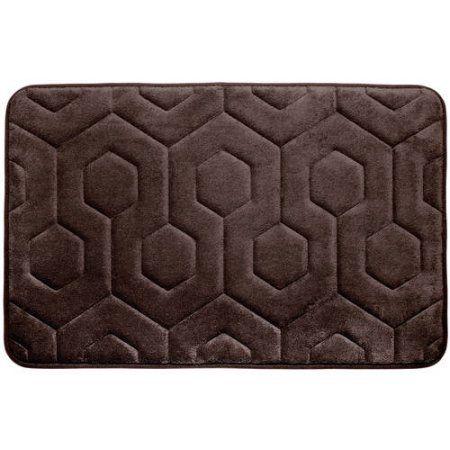 Bounce Comfort Hexagon Premium Memory Foam Bath Mat Products