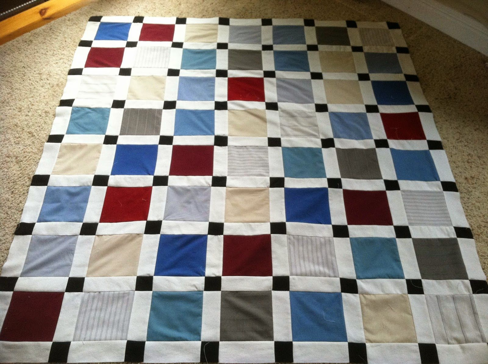 How to Make a Memory Quilt from Your Lost Loved Ones Clothing ... : quilts made from loved ones clothing - Adamdwight.com