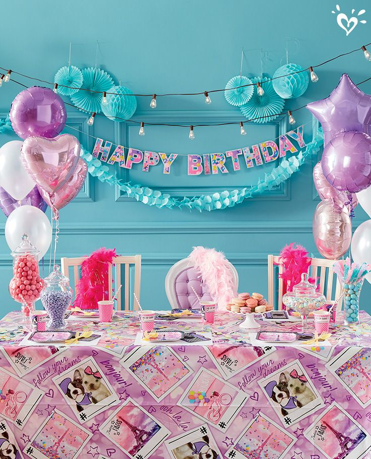 Belle Birthday Decorations Have A Belle Birthday Bash With Our Paristhemed Collection