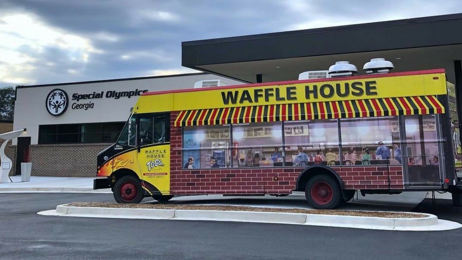 Waffle House Has a Food Truck That'll Cater Your Wedding