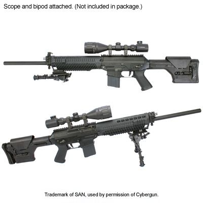 King Arms Sig 556 DMR | Firearms | Pinterest | Guns