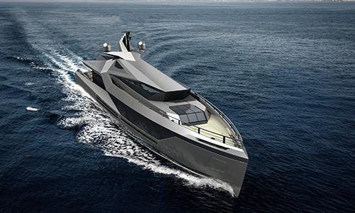 The Black Swan Yacht Timur Bozca OR Super