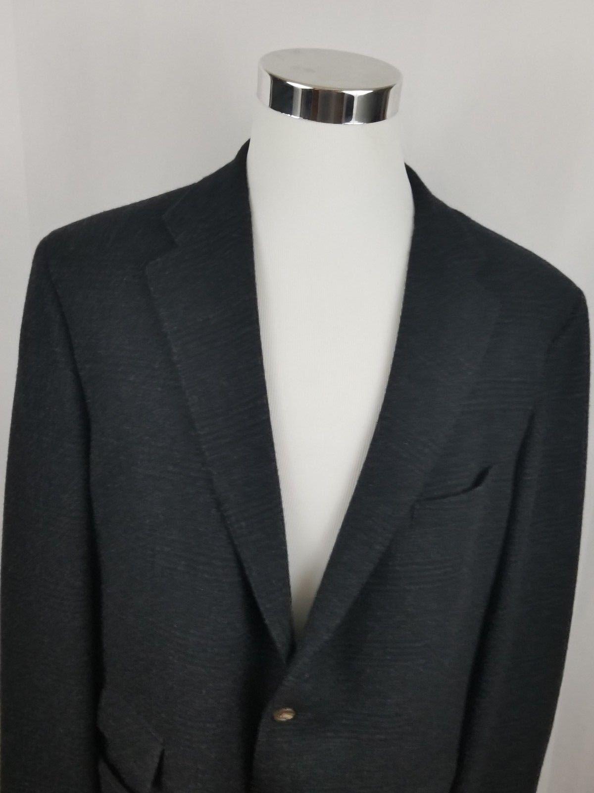 0994a319425 Polo Ralph Lauren Men s 100% Cashmere Blazer Sport Coat Size 46 L Suit Italy